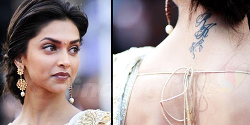 Deepika Padukones Toned Back & RK Tattoo Are Breaking The