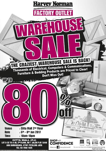 Harvey Norman Malaysia Craziest Warehouse Sale