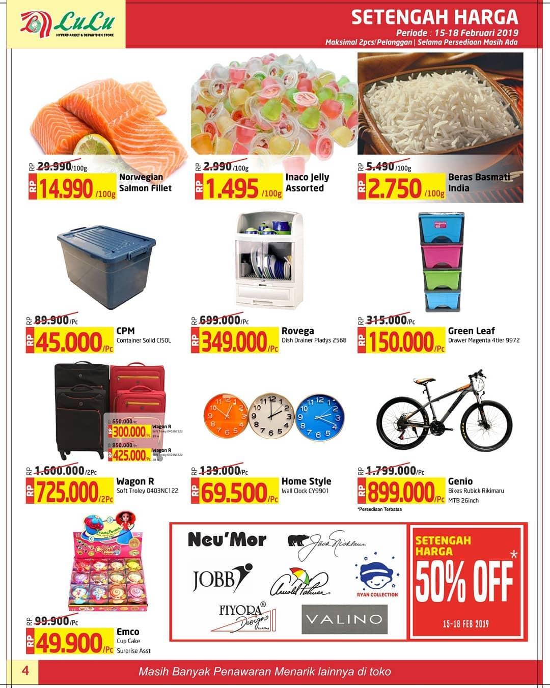 #LuluStore - #Promo #Katalog JSM Periode 15 - 18 Februari 2019