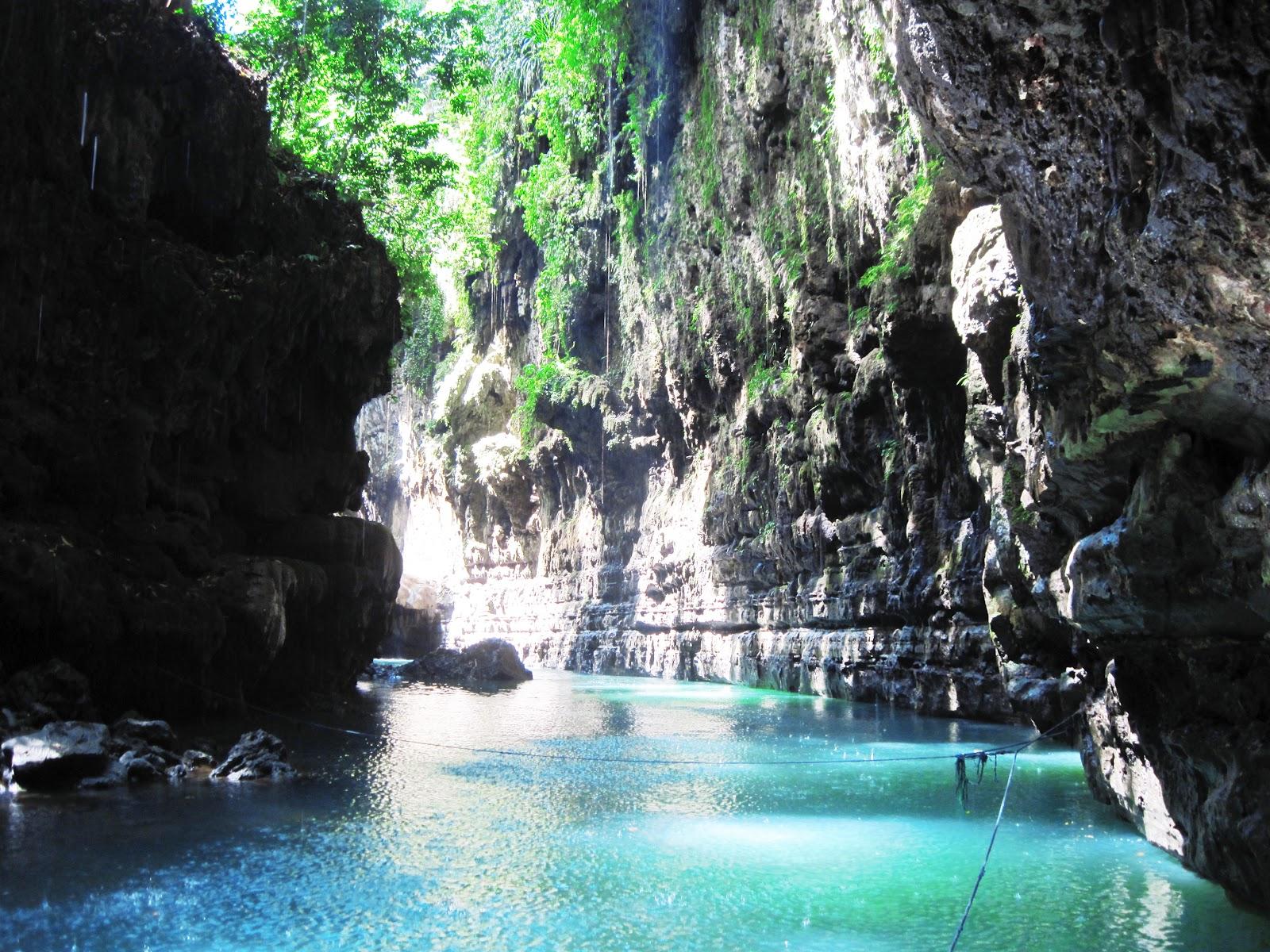 Jalan Jalan Indonesia Batu Karas   Green Canyon