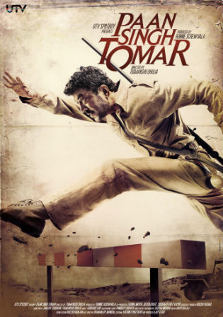 Paan Singh Tomar 2012 DVDRip 950MB Hindi Movie 720p Watch Online Full Movie Download bolly4u