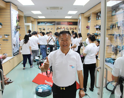 Makita Tools Thailand Display Showroom Wholesaler