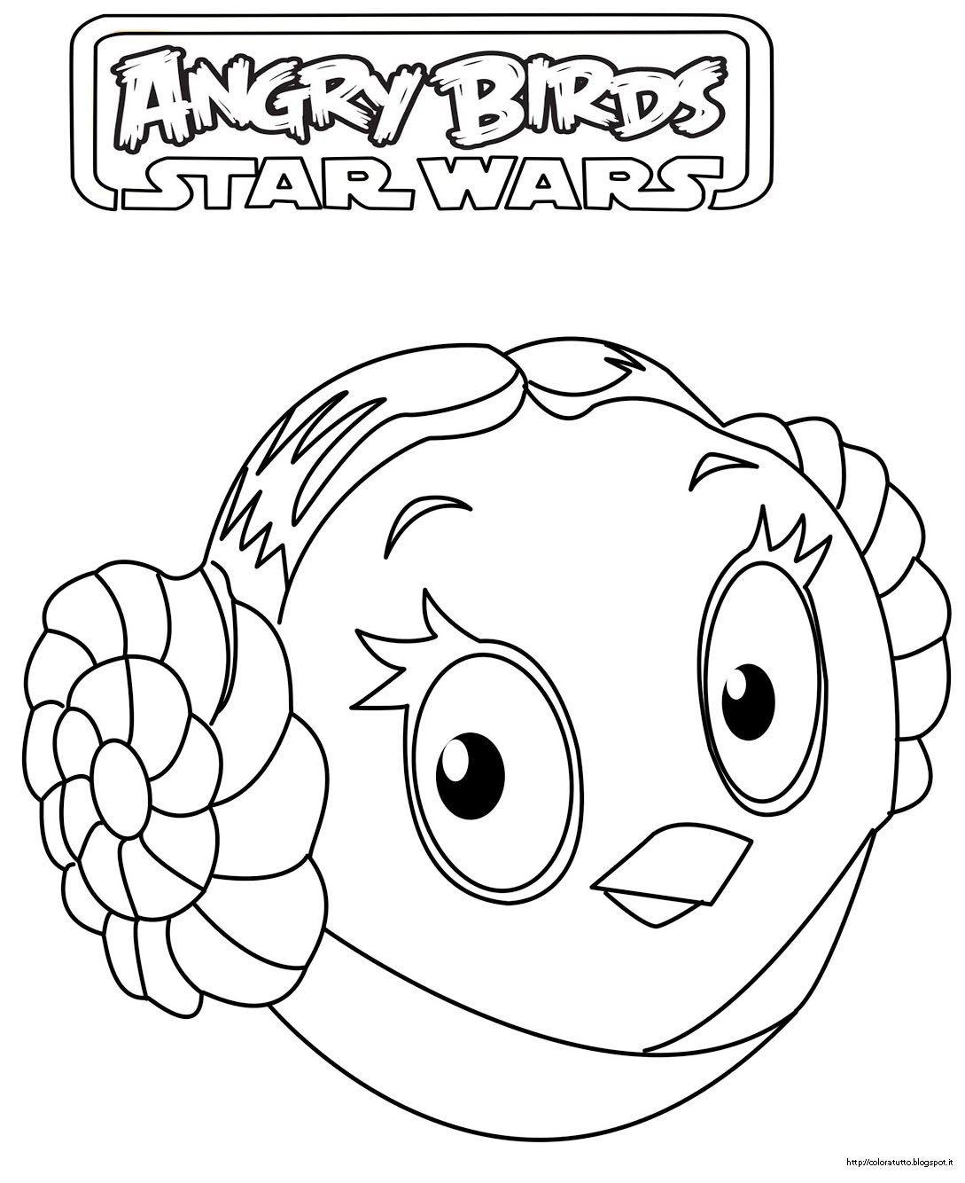 Disegni Da Colorare Di Star Wars