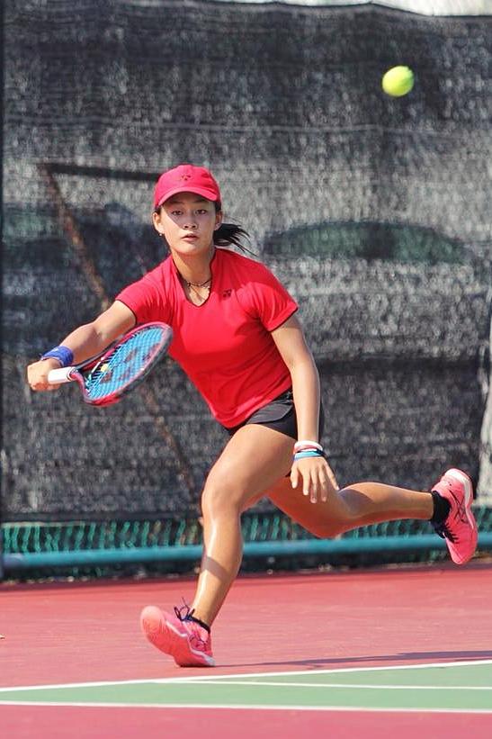 Priska Madelyn Nugroho Melenggang Ke Semifinal 2nd HCL Asian Junior Tennis Championships