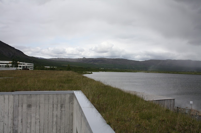 Laugarvatn Fontana Spa sits on the beautiful Lake Laugarvartn in Iceland.