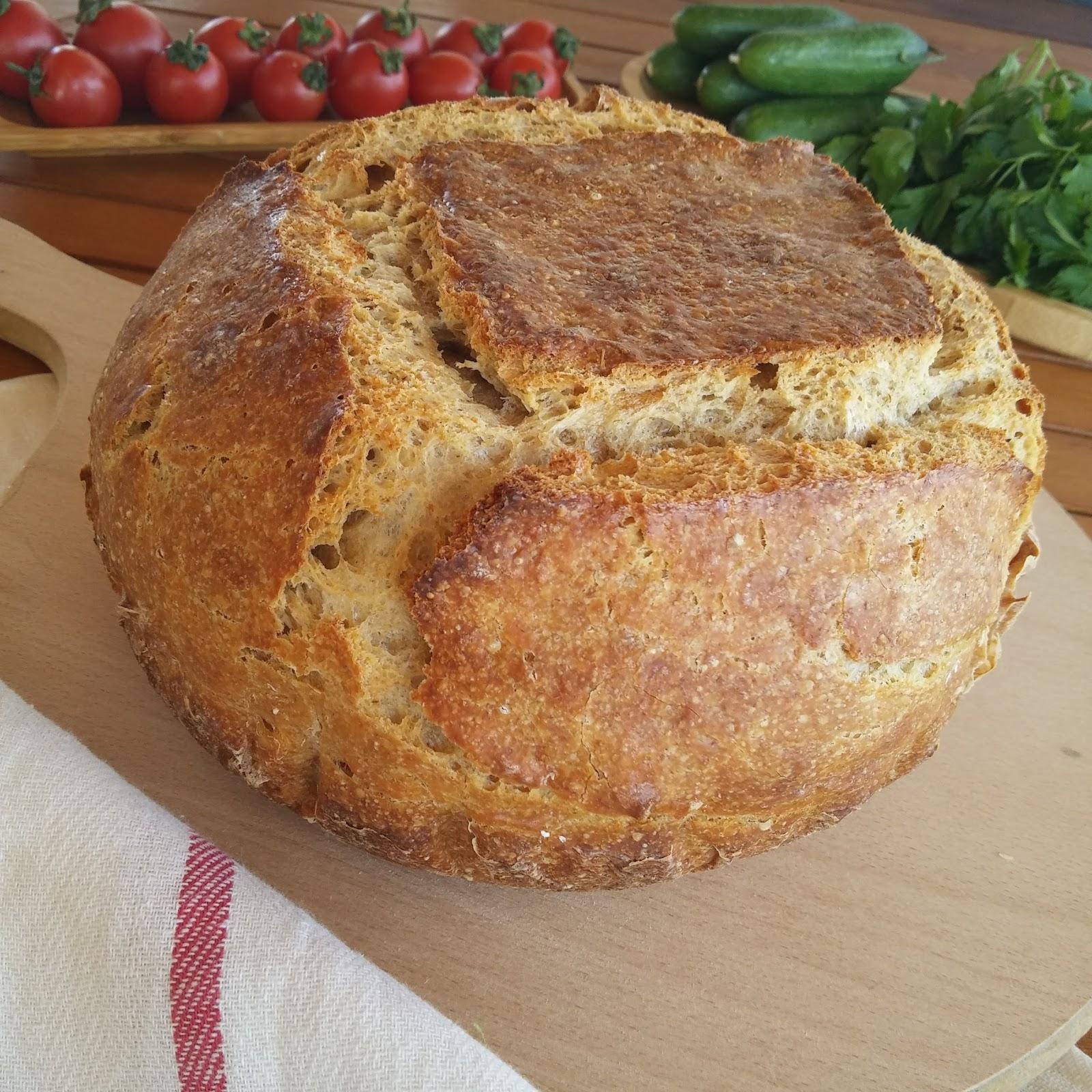 Ekmek Yapma Makinasında Ekşi Mayalı Ekmek