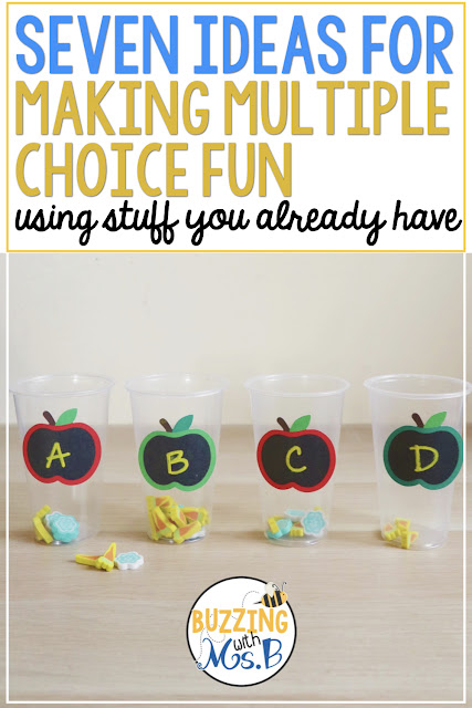 Test prep can be fun and motivating with these ideas for answering multiple choice questions! Each strategy can be used for math, reading, or writing questions to practice for any standardized test. Grab a freebie to get you and your students started.