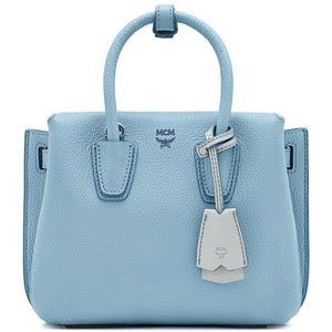 Mini Milla leather tote, SGD 1,038.34 from MCM
