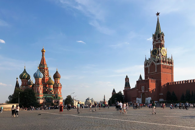Красная площадь, храм Василия Блаженного, Кремль, Спасская башня | Red Square, St. Basil's Cathedral, Kremlin, Spasskaya Tower