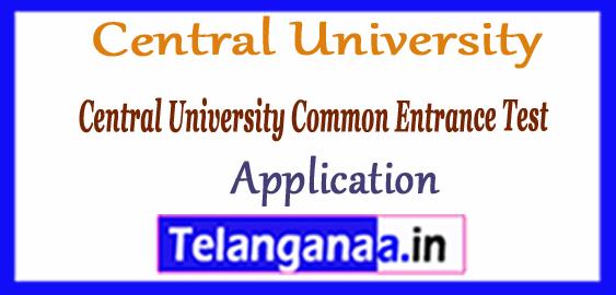 CUCET Central University Common Entrance Test 2018 Application Syllabus