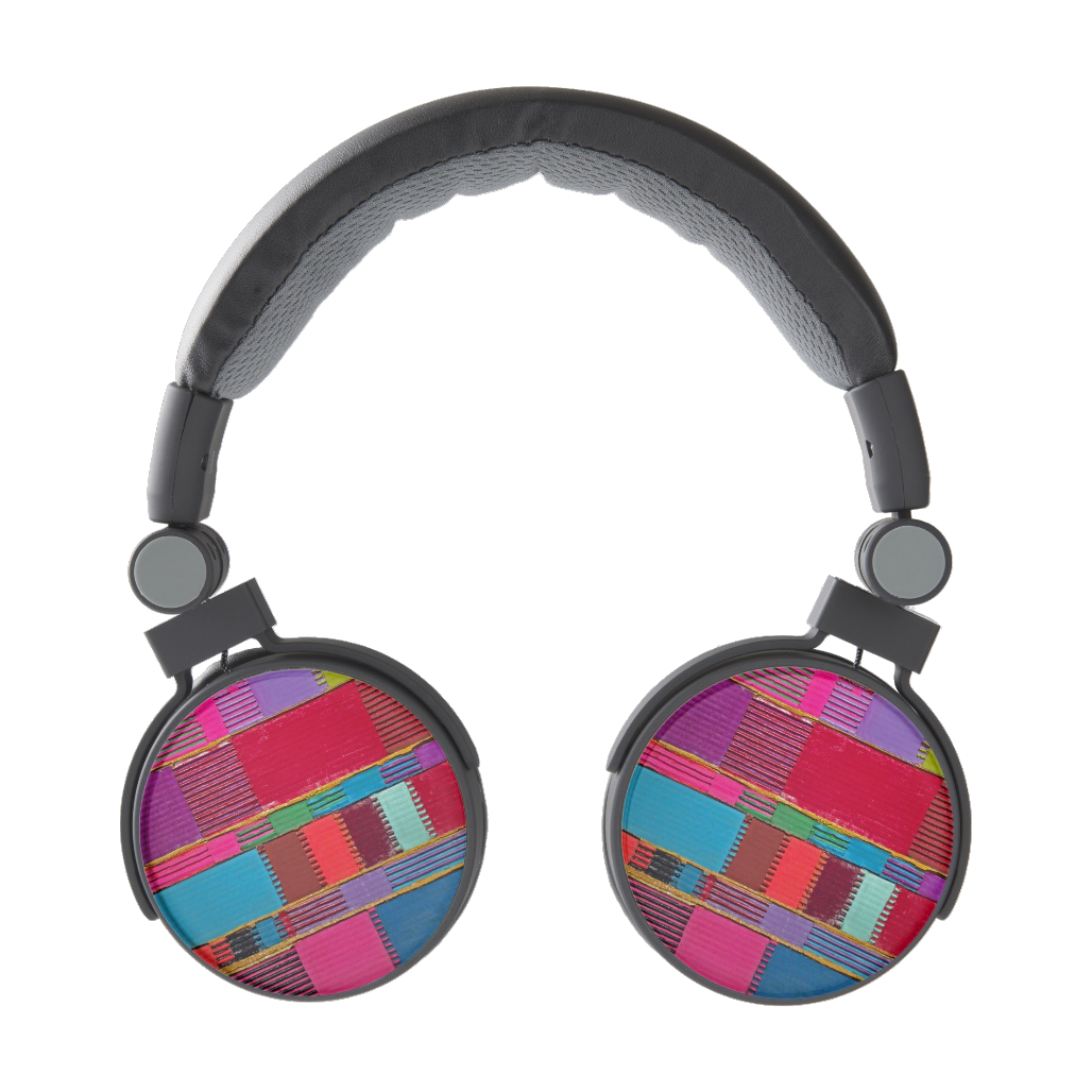 http://www.zazzle.com/chromatic_quilt_headphones-256964388100219358?gl=MixedMediaArtDesign