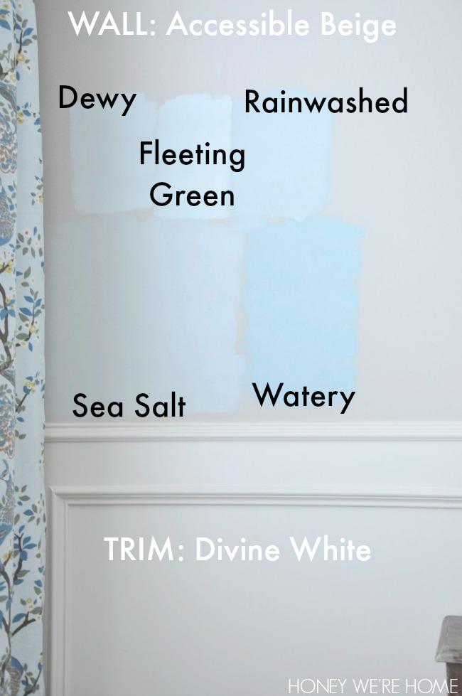 honey we 39 re home choosing paint for the dining room sherwin williams sea salt. Black Bedroom Furniture Sets. Home Design Ideas