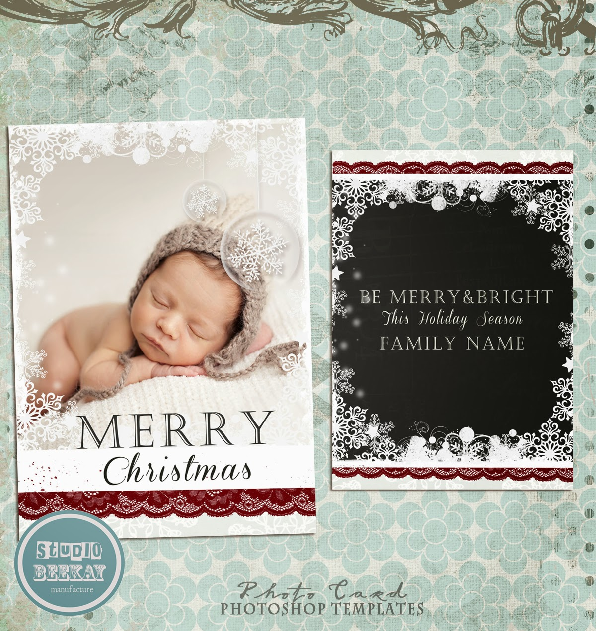 photoshop templates for pro photographers  new christmas