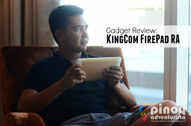 Gadget Review KingCom FirePad RA Tablet Philippines