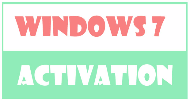 How to Activate Windows 7 With Windows 7 Key?