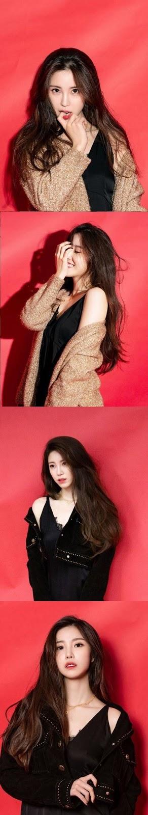 Jung Hyosung modellik yeteneklerini sergiledi