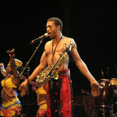 """""""3 of my 9 lovely children are adopted."""" - Afrobeat Legend, Femi Kuti"""