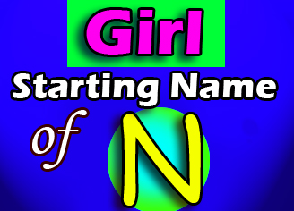 Modern Baby Girl Names Starting With N