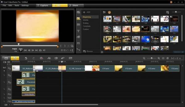 Corel VideoStudio - 11 Software Video Editor Terbaik Untuk Windows