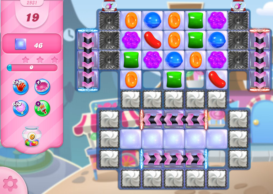 Candy Crush Saga level 2931