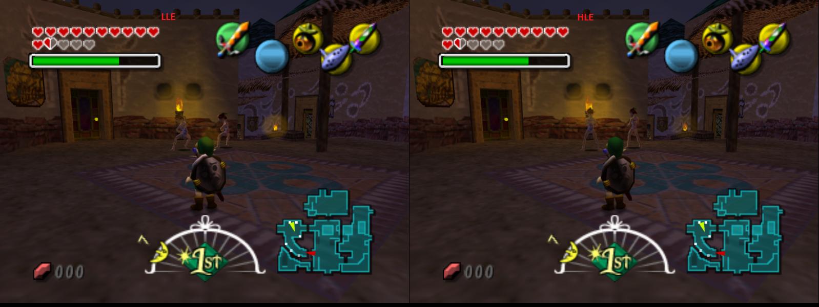 GLideN64: Zelda Majora's Mask point-lighting