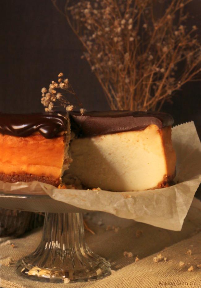 tarta de queso de baileys