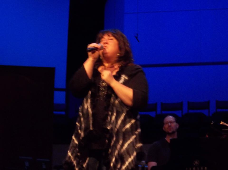 Jennie Lee Riddle - People & Songs Opus 1 Collective live singing on stage