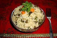 kale rice