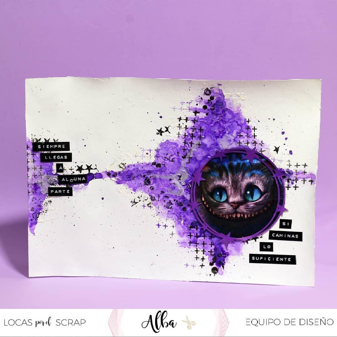 Layout con colores del año - Alba - DT Locas por el Scrap
