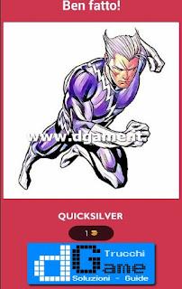 Soluzioni Ultimate Comics Quiz livello 79