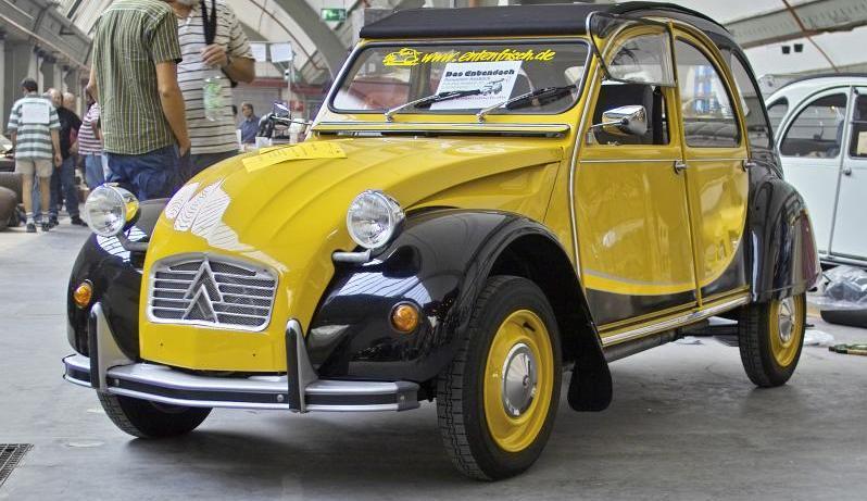citroen 2cv taxi paris