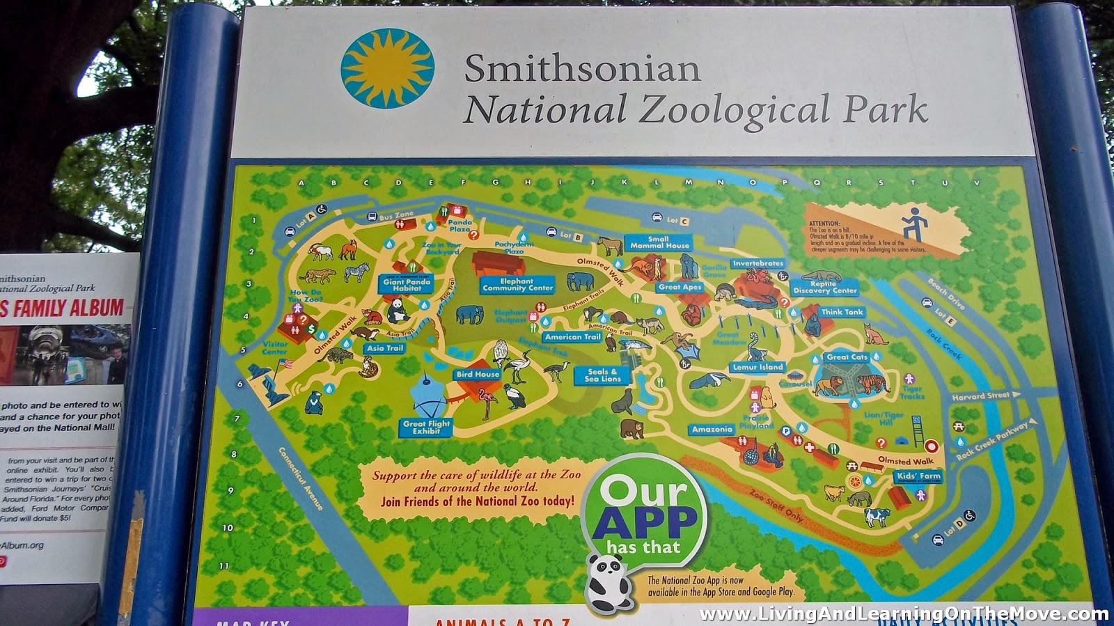 Wwww Washington Dc Zoo Map Visiting The Smithsonian