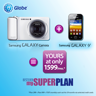 Samsung Galaxy Camera plus Galaxy Y yours only 1599