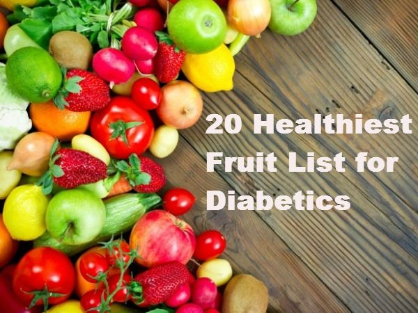 7 Fruits with Low Glycemix Index and Glycemic Load for Diabetes