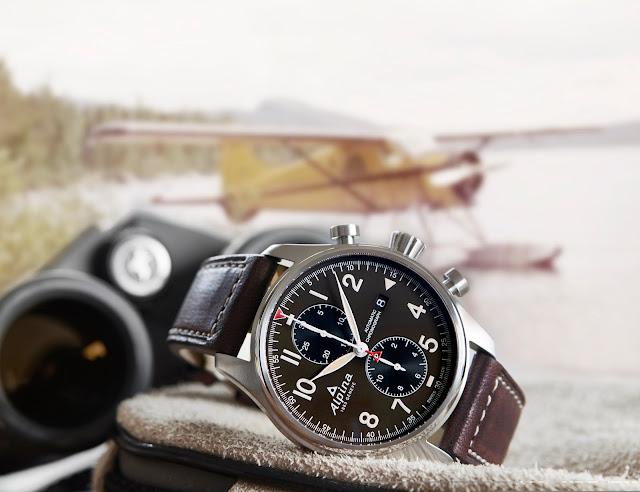 Alpina Startimer Pilot Automatic Chronograph 11 blog debajo del reloj