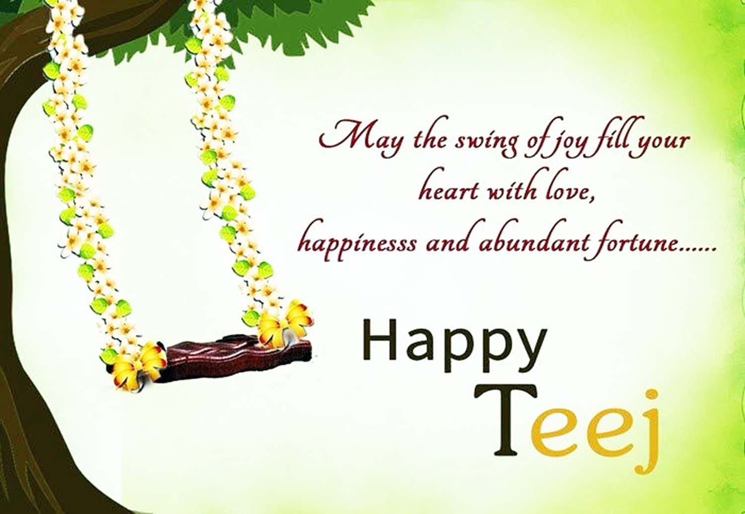 Happy teej wish