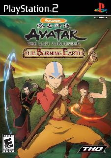 Avatar - The Last Airbender - The Burning Earth PPSSPP