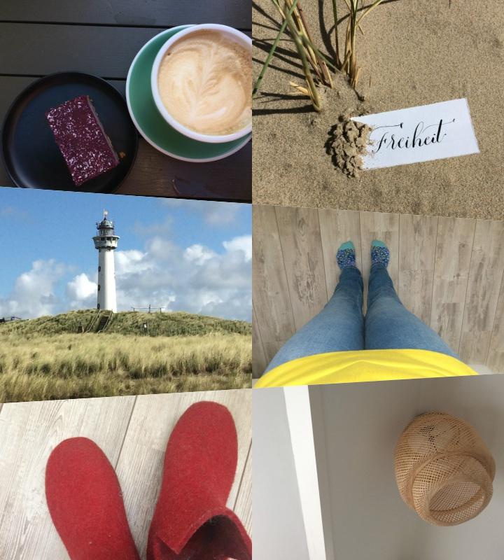 Collage von Bildern, die am 12. jedes Monats den Tag dokumentieren, Teil 2