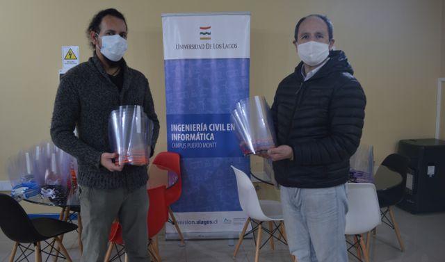 ULagos donó más de 200 Pantallas de Protección Facial