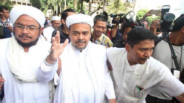 Habib Habib Rizieq Berharap SP3 Serupa Dapat Diberikan Kepada Ulama dan Aktivis 212