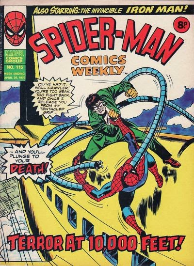 Spider-Man Comics Weekly #115, Dr Octopus