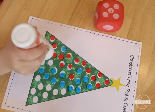 christmas math worksheets - preschool, kindergarten, first grade