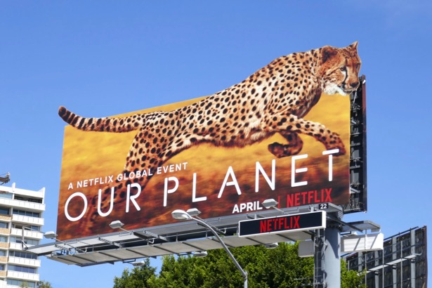 Our Planet series premiere billboard