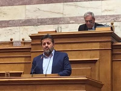 Ερώτηση του βουλευτή Πιερίας του ΣΥΡΙΖΑ Στέργιου Καστόρη,  για το νέο νόμο περί απασχόλησης συνταξιούχων αναπηρίας