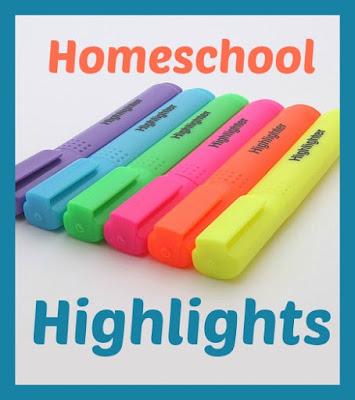 Homeschool Highlights - The Week in (Short) Review on Homeschool Coffee Break @ kympossibleblog.blogspot.com