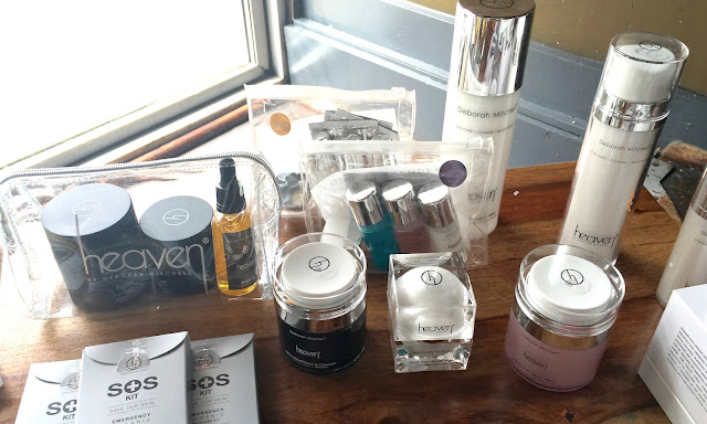 #BloggerTikiParty Blogger Event in Birmingham heaven skincare products