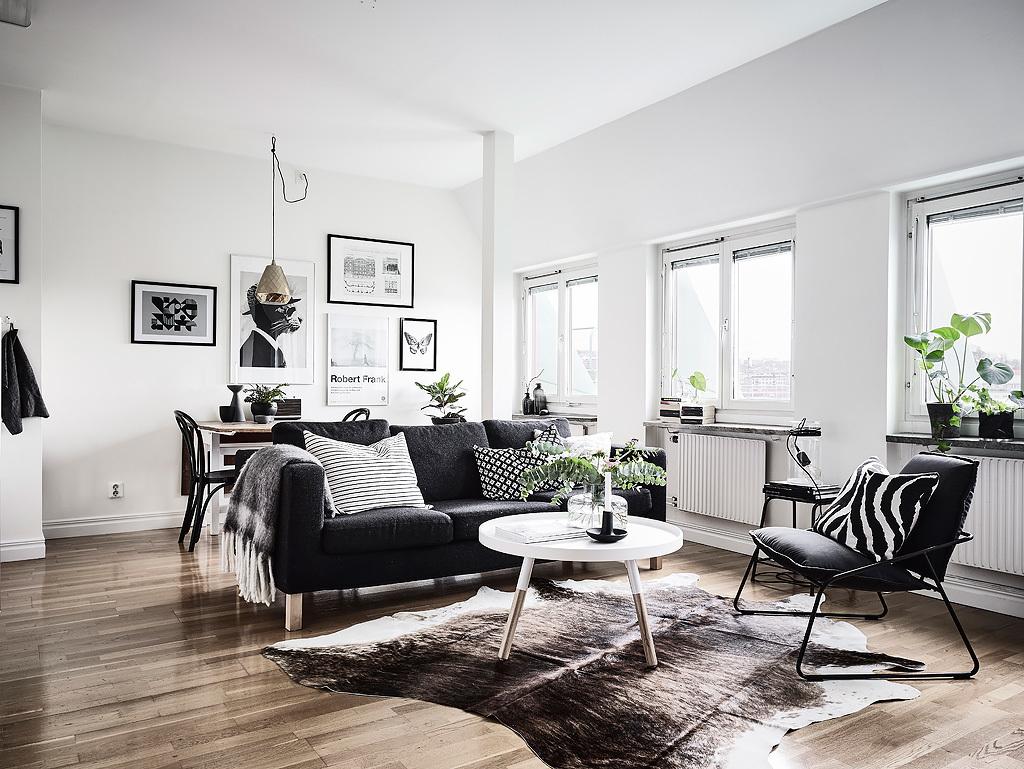 K R i S P I N T E R I Ö R : One Room Living