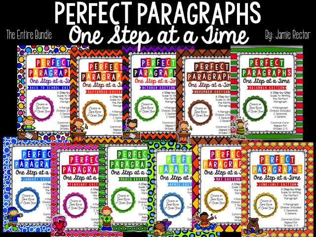 Perfect Paragraphs are an easy way to teach paragraph writing to your students. Easy step by step approach to writing paragraphs.