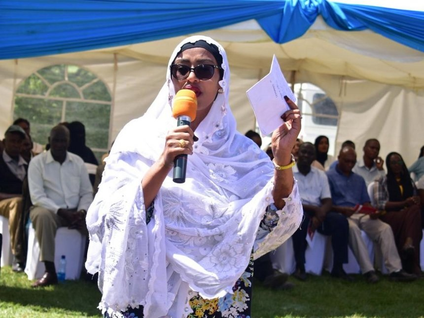 Sexy Isiolo Woman Rep, Rehema Jaldesa, calls for castration of men found  guilty of RAPE(VIDEO)