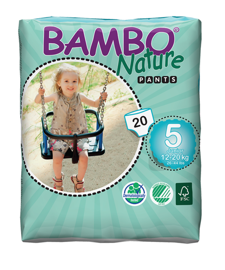 Choosing a disposable diaper to use when outside the home & during our newborn's first weeks on the planet was a tough choice, until we found Bambo Nature! Find out why this Ecofriendly diaper is our first choice for our baby's bottom! #BamboBaby